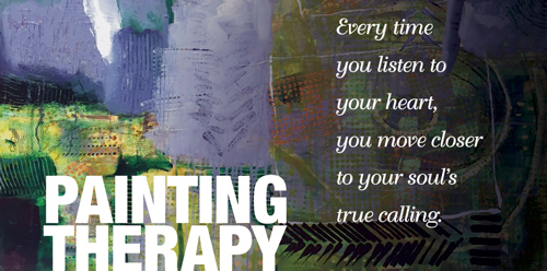 Painting Therapy.Take the next step on your personal journey.